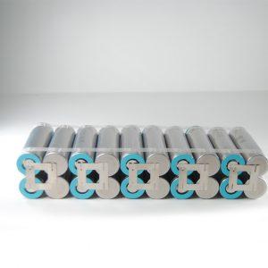Batteria 36v li-ion litio 21700 10Ah ebike 360 W/h per professionisti 21.5*4.2*7 cm