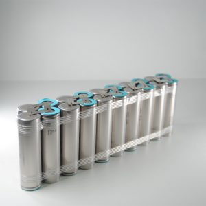 Batteria 36v li-ion litio 21700 10Ah ebike 360 W/h per professionisti 24*4*7 cm
