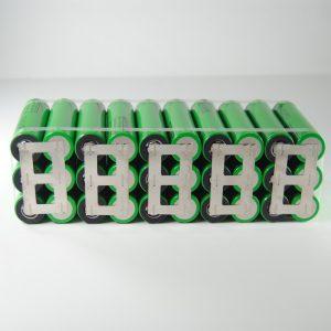Batteria 36v li-ion litio 18650 10Ah ebike 378 W/h per professionisti 19*5.5*6.5 cm