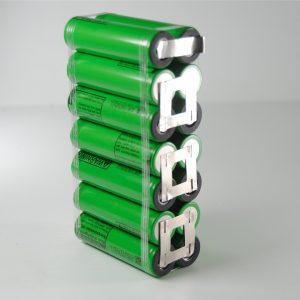 Batteria 24v li-ion litio 18650 7Ah ebike 168 W/h per professionisti 13*3.8*6.5 cm