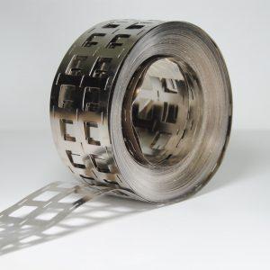 Striscia nichel per saldatura batteria 18650 – 44 X 0,15 mm al metro