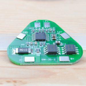 BMS per batterie al litio 3,7v circuito di protezione 3S 12,6v 4A
