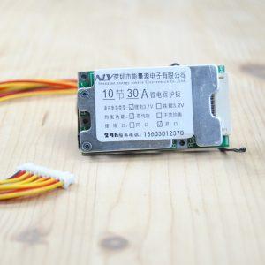BMS per batterie al litio 3,7v circuito di protezione 10S 36v 30A